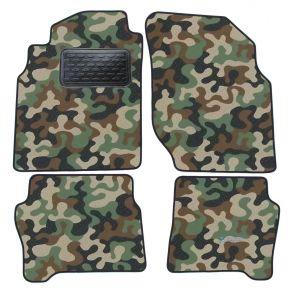 Maskačové textilné koberce pre Nissan Almera  N16  2000-2006 4ks