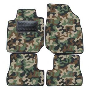 Maskačové textilné koberce pre Nissan Micra K12 2003-2009 4ks