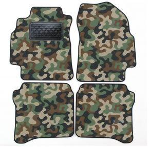 Maskačové textilné koberce pre Nissan Primera P12 2000-2008 4ks