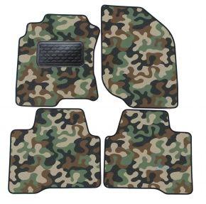 Maskačové textilné koberce pre Nissan X-Trail  T30 2001-2007 4ks