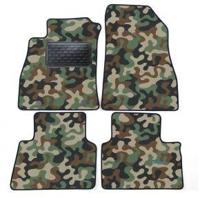Maskačové textilné koberce pre Nissan Juke 2010-up 4ks