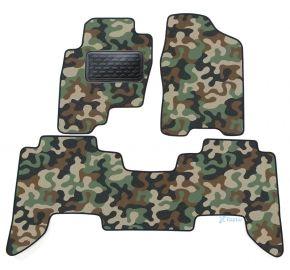 Maskačové textilné koberce pre Nissan Pathfinder  2005-2012 4ks