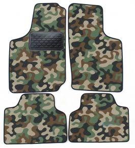Maskačové textilné koberce pre Opel Corsa B/ TIGRA A  1993-2000 4ks
