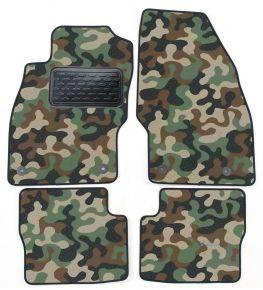 Maskačové textilné koberce pre Opel Corsa D / E 2006-2014 4ks