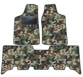 Maskačové textilné koberce pre Opel Frontera 1999-2004 4ks