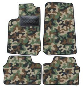 Maskačové textilné koberce pre Opel Vectra B 1995-2002 4ks