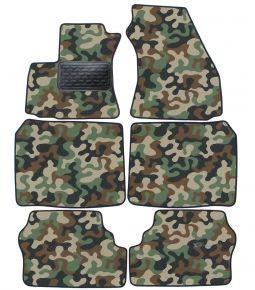 Maskačové textilné koberce pre Opel Zafira A 1999-2005 6ks