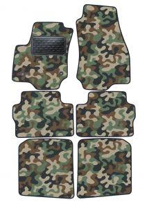 Maskačové textilné koberce pre Opel Zafira B 2005-2011  4ks