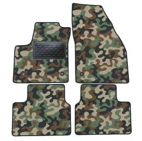 Maskačové textilné koberce pre Opel Meriva B 2011-up  4ks