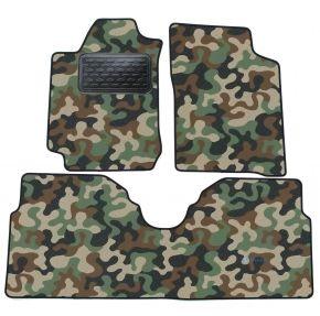Maskačové textilné koberce pre Renault Megane Scenic 1997-2003 4ks