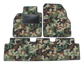 Maskačové textilné koberce pre Renault Magene Scenic 2004-up 4ks