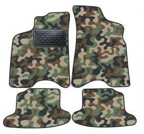 Maskačové textilné koberce pre Seat Arosa 1997-2005 4ks