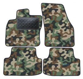 Maskačové textilné koberce pre Seat Ateca 2016-up 4 ks