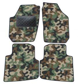 Maskačové textilné koberce pre Skoda Roomster 2006-2015 4ks