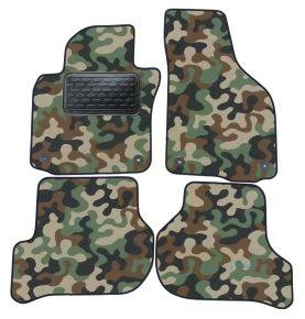 Maskačové textilné koberce pre Skoda Octavia II /GOLF V/ GOLF VI /JETTA