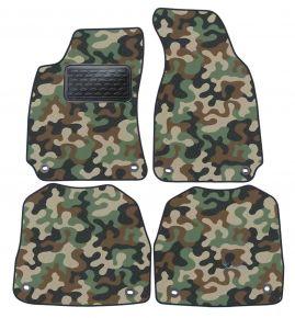 Maskačové textilné koberce pre Skoda Super B 2002-2008 4ks