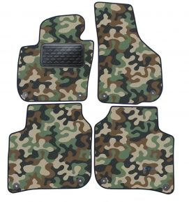 Maskačové textilné koberce pre Skoda Super B 2008-2015 4ks