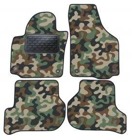 Maskačové textilné koberce pre Skoda Yeti / Golf 5 Plus