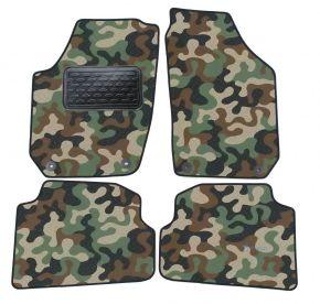 Maskačové textilné koberce pre Skoda Fabia II 2007-2014