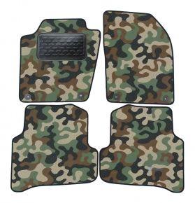 Maskačové textilné koberce pre Skoda Fabia III 2014 -up  4ks