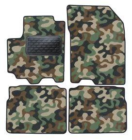 Maskačové textilné koberce pre Suzuki S-cross / SX4 2013-up  4ks