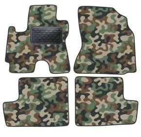 Maskačové textilné koberce pre Toyota RAV-4 2004-2012 4ks