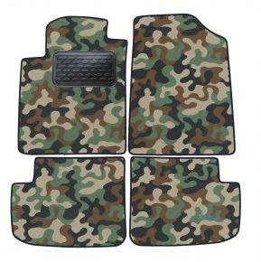 Maskačové textilné koberce pre Toyota Yaris 5D 1998-2005 4ks