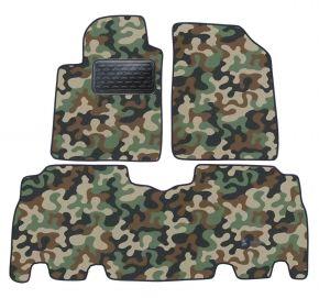 Maskačové textilné koberce pre Toyota Yaris Verso 1999 -2006 4ks