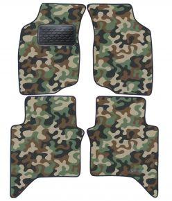 Maskačové textilné koberce pre Toyota Hilux 2006-2011 4ks