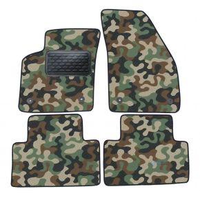 Maskačové textilné koberce pre Volvo C30 2007-up 4ks