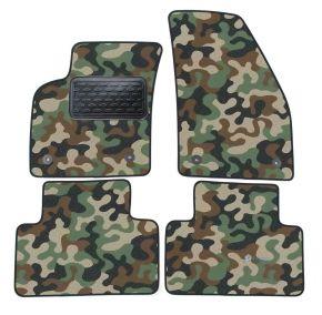 Maskačové textilné koberce pre Volvo V50 / S40   2004-2012 4ks