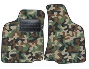 Maskačové textilné koberce pre Volkswagen Caddy 1998-2003 4ks