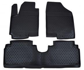 Gumené rohože  KIA Venga /Hyundai ix20  2010-up 3 ks