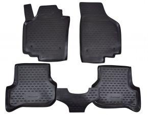 Gumené rohože  SEAT Altea 2005-2009   4 ks