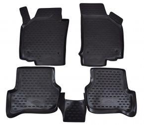 Gumené rohože  SEAT Leon 2006-2012  4 ks