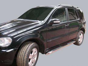 Bočné nerezové rámy pre Mercedes ML-Class W163