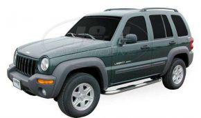 Bočné nerezové rámy pre Jeep Cherokee 2001-2006
