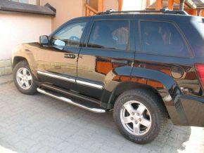 Bočné nerezové rámy pre Jeep Grand Cherokee 2005-2010