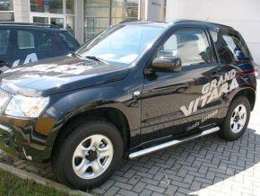 Bočné nerezové rámy pre Suzuki Grand Vitara 3D