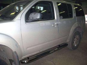 Bočné nerezové rámy pre Nissan Pathfinder