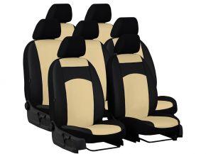 Autopoťahy na mieru Koža AUDI Q7 II 7m. (2015-2020)