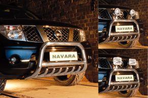 Predné rámy pre Steeler Nissan Navara 2005-2010 Typ G