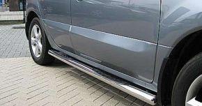 Bočné nerezové rámy pre Jeep Grand Cherokee (oval) 2011-up