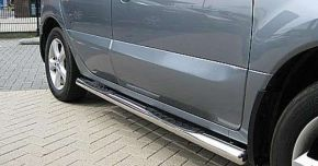 Bočné nerezové rámy pre Mitsubishi ASX