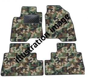 Maskačové textilné koberce pre Audi TT 8N 2000-2007 4ks
