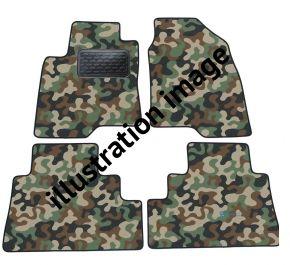 Maskačové textilné koberce pre BMW E60 5 Series  2003-up 4ks