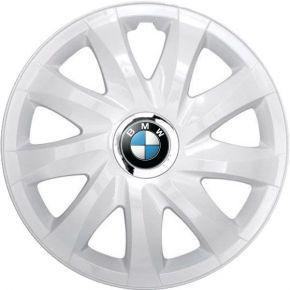 "Puklice pre BMW 14"", DRIFT BIELE LAKOVANÉ 4ks"