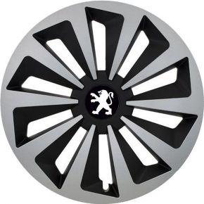 "Puklice pre Peugeot 14"", Fox, 4 ks"