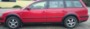 Plastové lemy pre VOLKSWAGEN VW PASSAT B5 COMBI 1996-2000
