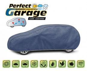 Mäkká membránová ochranná Plachta na celé auto PERFECT GARAGE hatchback/kombi Lancia Lybra kombi d. 430-455 cm